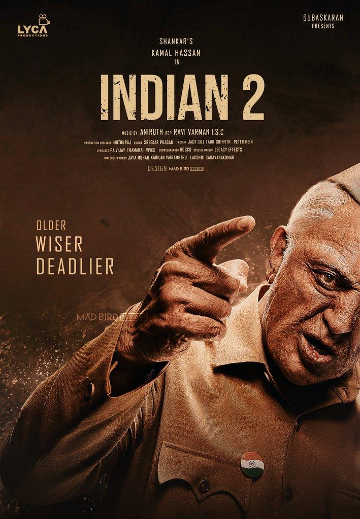 Indian 2 shooting start with news makeup