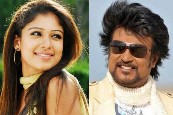 Nayanthara acting as pair to rajinikanth