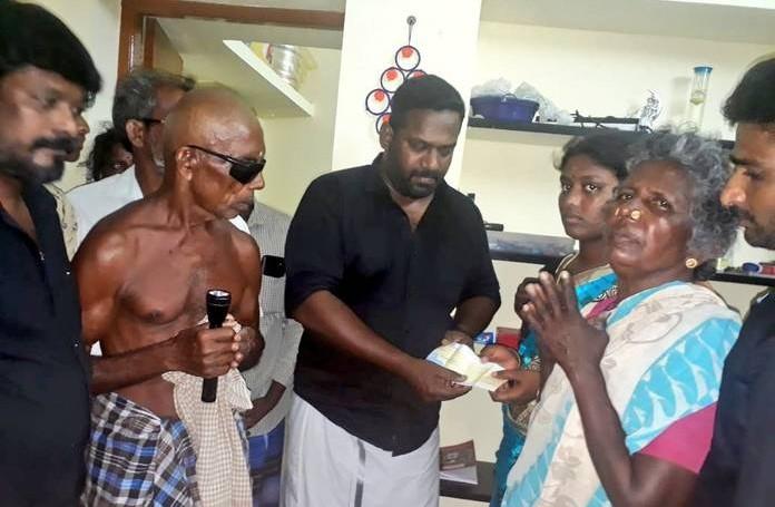 Robo shankar helped CRPF families