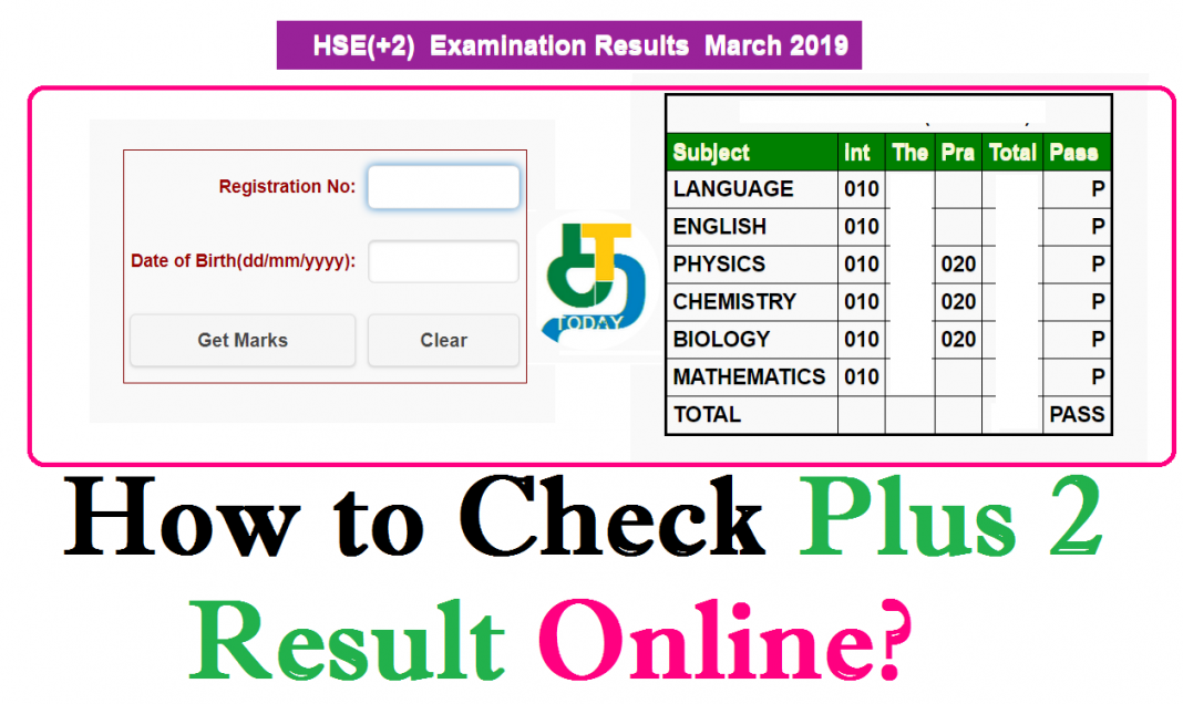 TN 12th 2 Result 2019 - How to Check Plus 2 Result Online