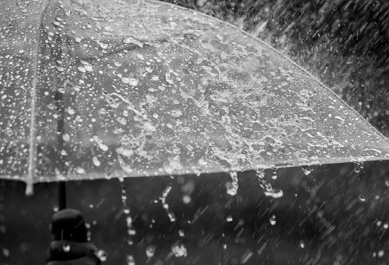 கடலூர், விழுப்புரம், திருவண்ணாமலை உள்ளிட்ட இடங்களில் பரவலாக மழை