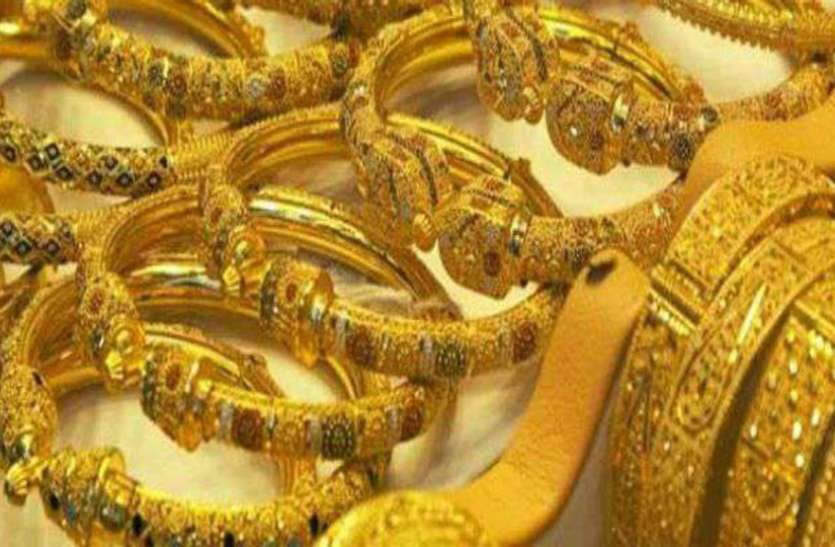 Gold Rate falls high
