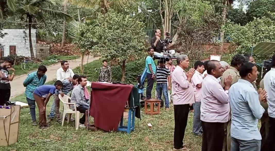 TV serials shooting